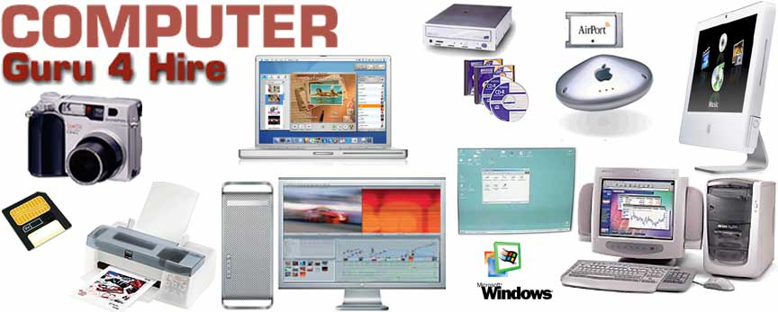 Apple Macintosh Onsite Tech Support, Troubleshooting, Training, Tutoring, and More